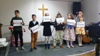 Program de Paște - sceneta copiii (Nisporeni Biserica Sfânta Treime )
