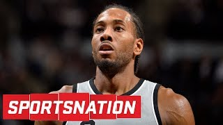 Kawhi Leonard out indefinitely after missing significant action with Spurs | SportsNation | ESPN