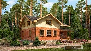 Проект дома из газобетона 120м2