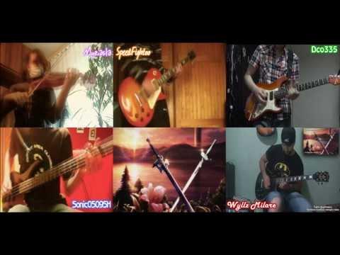 [Sword Art Online OP] LiSA - Crossing Field Instrumental Mash-Up
