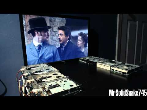 Sherlock Holmes - Discombobulate on eight floppy drives