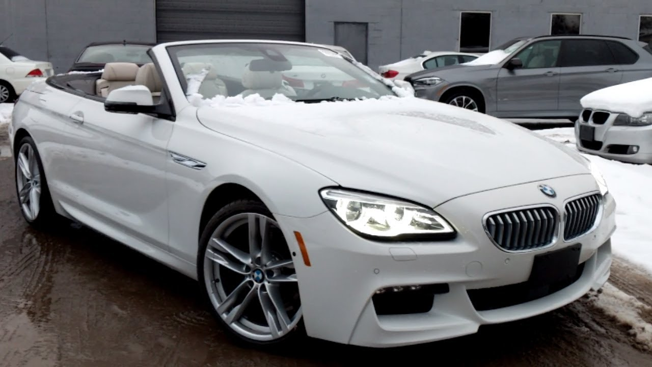 2017 Bmw 6 Series Cabriolet M Sport V8 650i Full Review Alpine White On Ivory