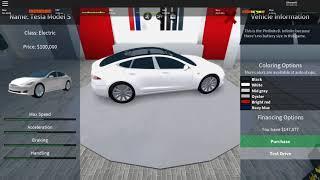 Roblox Vehicle Simulator en Anglais