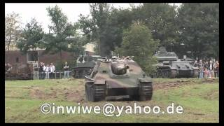 Jagdpanther in Action an der WTD 41 in Trier  - Tank Destroyer Panther in Action