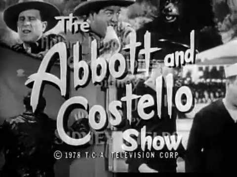 Abbott Costello ShowThe Intro S1 1952