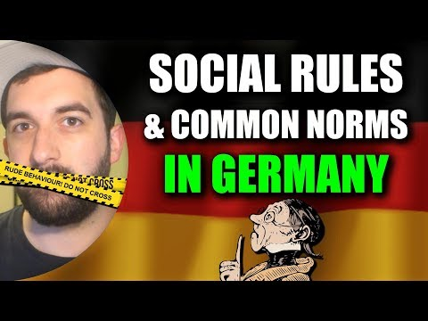 SOCIAL RULES & ETIQUETTE IN GERMANY 🧐 Basic Rule Explained
