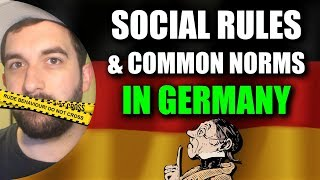ETIQUETTE IN GERMANY 🧐 A German explains an important social rule! | VlogDave
