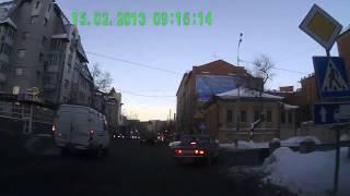 Метеориттің құлауы 15.02.2013 видео Түменде.