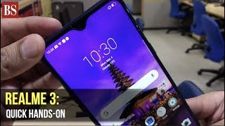 Realme 3 hands-on: Quick look at performance, OS, camera, display, and more