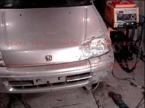 кузовной ремонт Honda Logo.avi