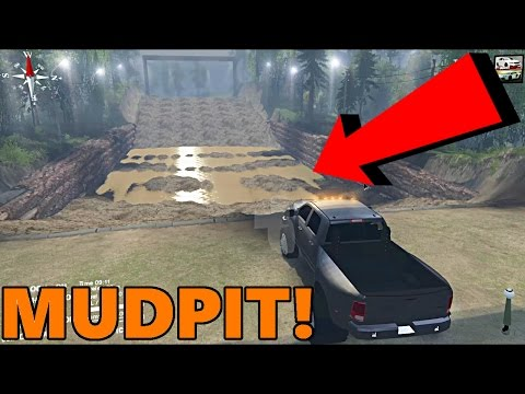 Spin Tires   Dirt Time VERSION 2   TONS OF NEW STUFF! CRAZY MUD PIT!