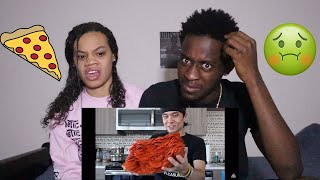 1000+ Pepperoni on 1 Slice of Pizza CHALLENGE!!! REACTION VIDEO 😱🍕