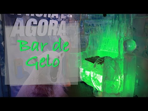 Tem Bar de Gelo em São Paulo!
