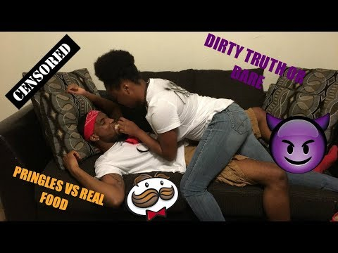 PRINGLES VS REAL FOOD + DIRTY TRUTH OR DARE