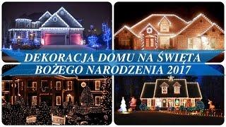 Dekoracja domu na święta bożego narodzenia 2017