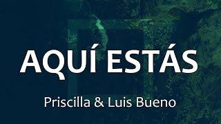 C0151 AQUI EST�S / WAY MAKER - Priscilla & Luis Bueno (Letras)