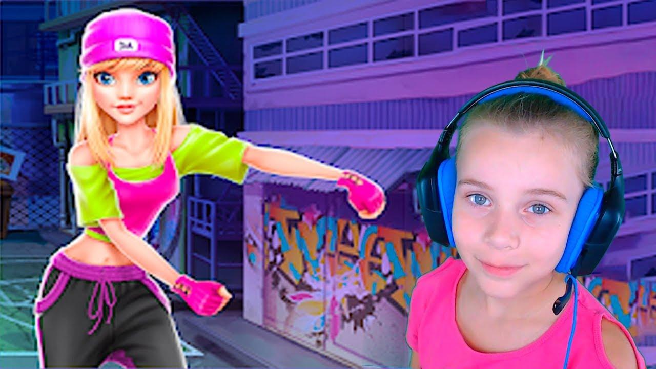 Хип-хоп Битва: Девушки VS Парни Видео Игры для Девочек   Автоматический Заработок Программой
