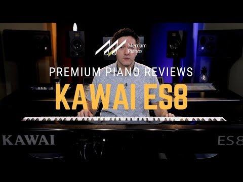 🎹Kawai ES8 Digital Piano Review & Demo - RHIII Action, Harmonic Imaging, USB Audio🎹