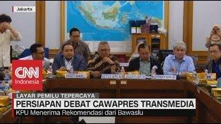 Persiapan Debat Cawapres Transmedia