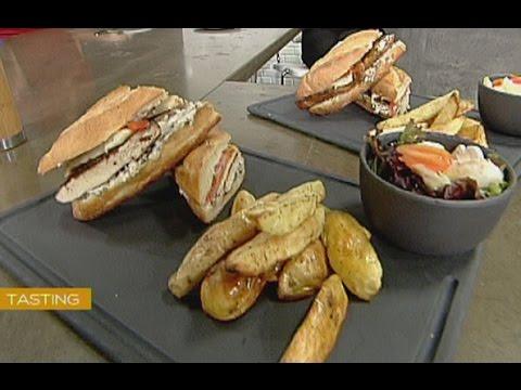 Lebanese Chicken Sandwich