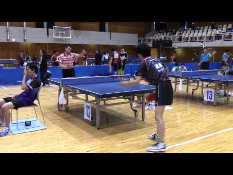 Toshima-ku Open 2014. Monma-san & Hayano-san
