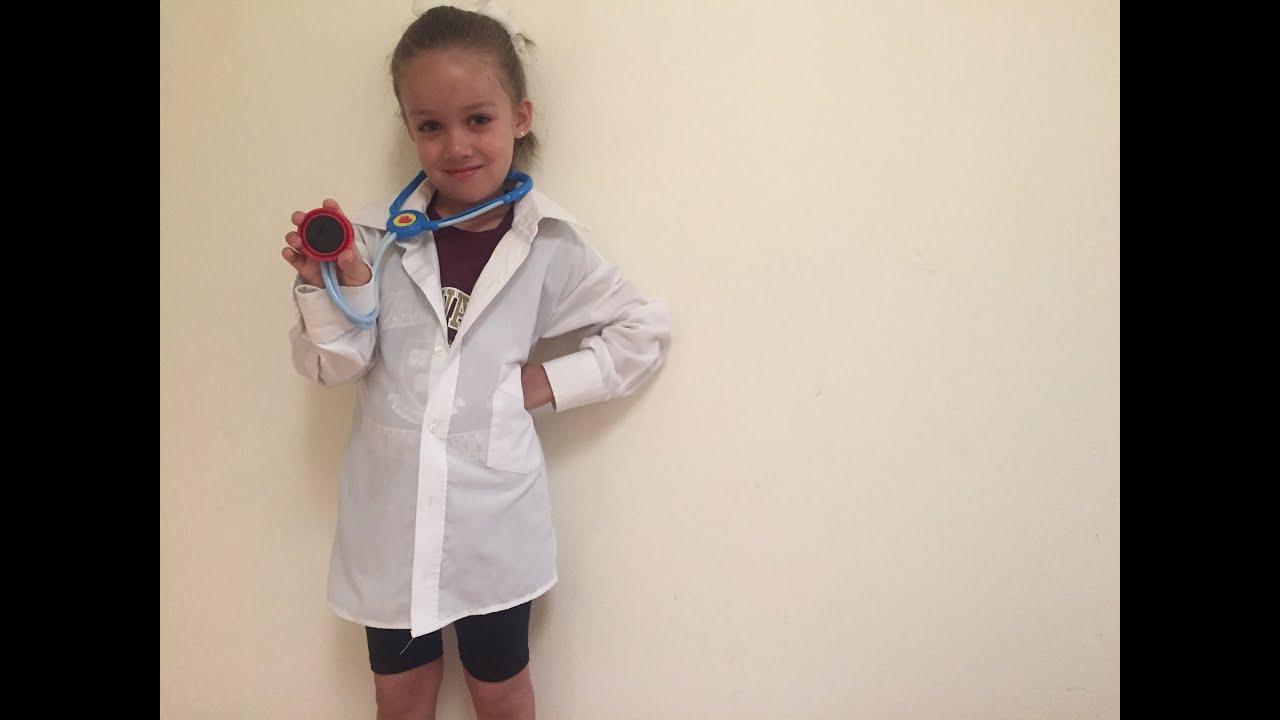 Mandil / Bata de Doctor Con Camisa Vieja - Paso a Paso - YouTube
