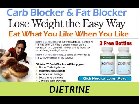Dietrine Carb Blocker Review How Does It Work Youtube