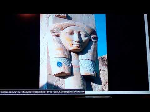 Egyptian concrete : Hathors Temple in Dendara Long Lasting New Info 2108