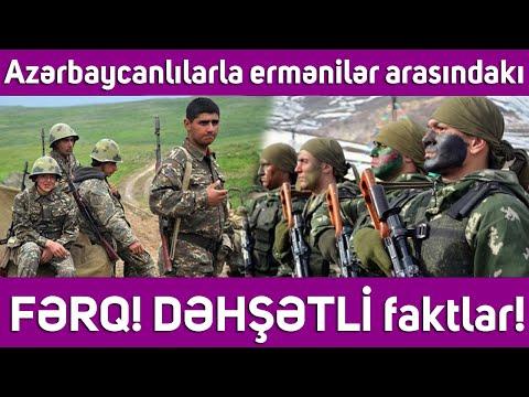 Azərbaycanlılarla ermənilər arasındakı FƏRQ! DƏHŞƏTLİ faktlar!