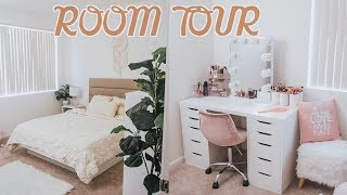 ROOM TOUR  || PINTEREST INSPIRED BEDROOM MAKEOVER