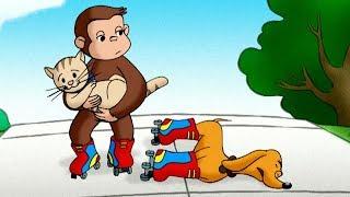 George O Curioso 🐵 O Macaco Patinador 🐵Episódio Completo 🐵 Desenhos Animados