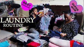 Large Family Laundry Routine | We always have a lot to do