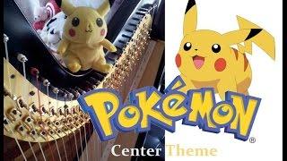 Pokemon Center Theme (Harp Duet Cover)
