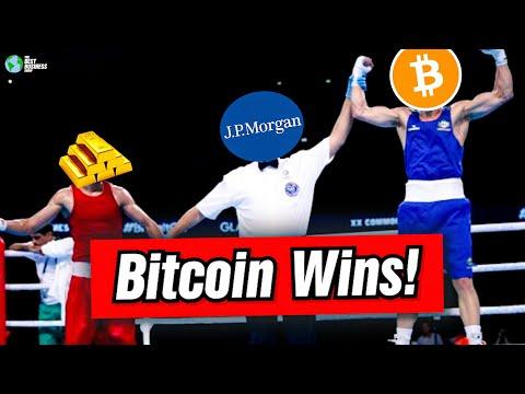 JP Morgan: Bitcoin Is Better Than Gold