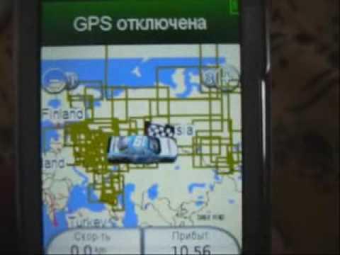 Навигация на Symbian Nokia N79