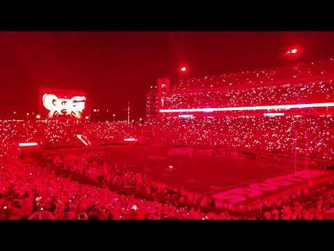 UGA Vs Notre Dame 2019 4th Quarter RED Light Up!!!