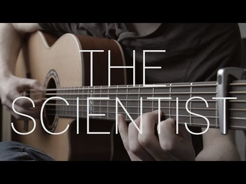 Coldplay  The Scientist  Fingerstyle Guitar   James Bartholomew