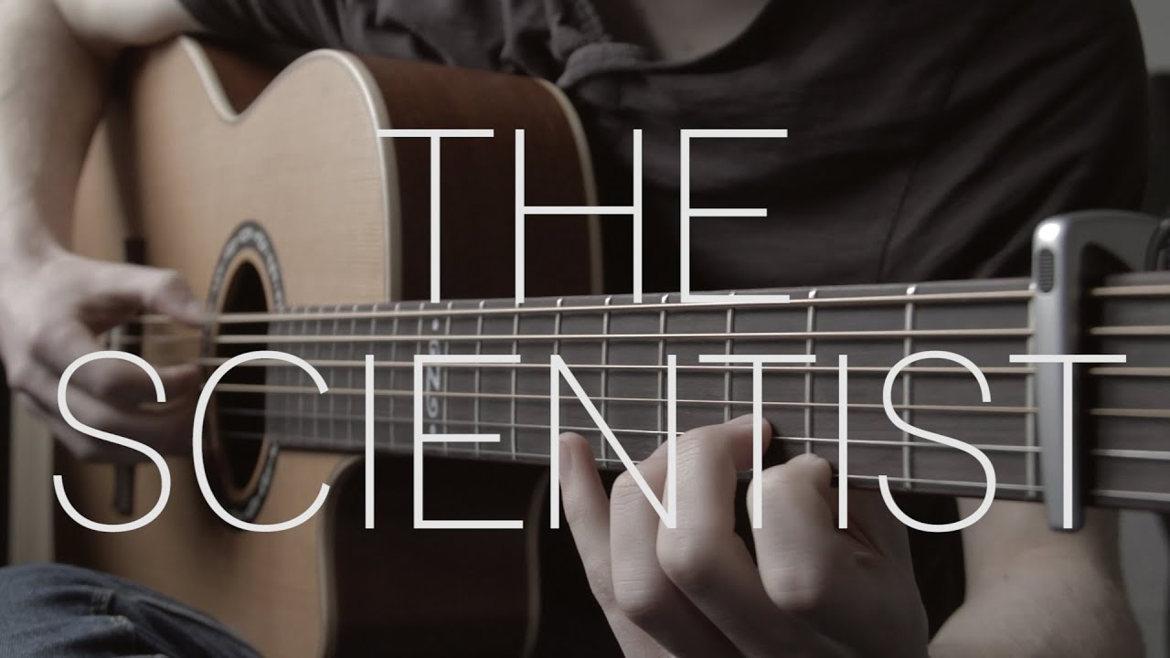 Coldplay The Scientist Fingerstyle Guitar Cover By James