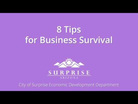 8 Tips for Business Survival video thumbnail