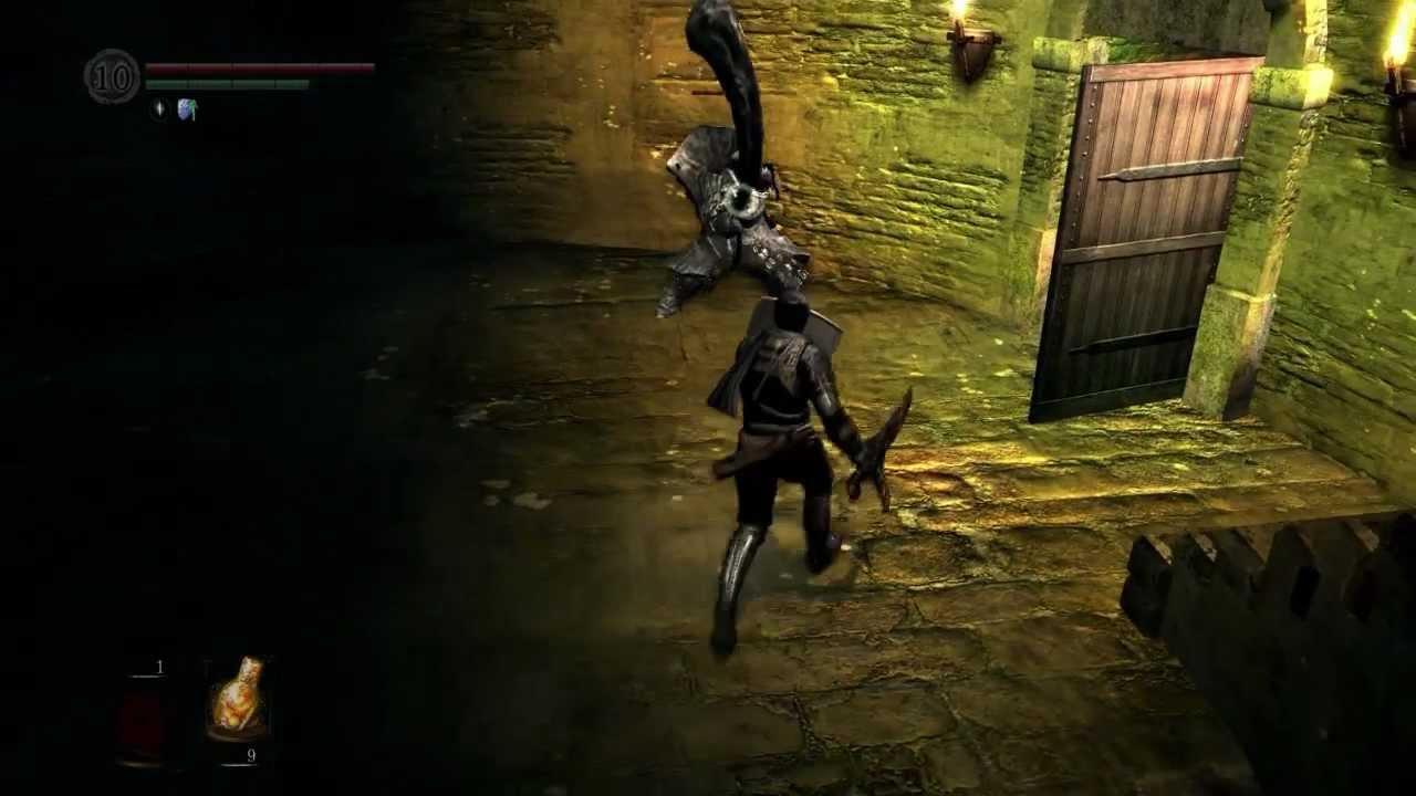 Dark Souls Gameplay Pt 12 - Havel\'s Ring (Darkroot Basin) 720p - YouTube