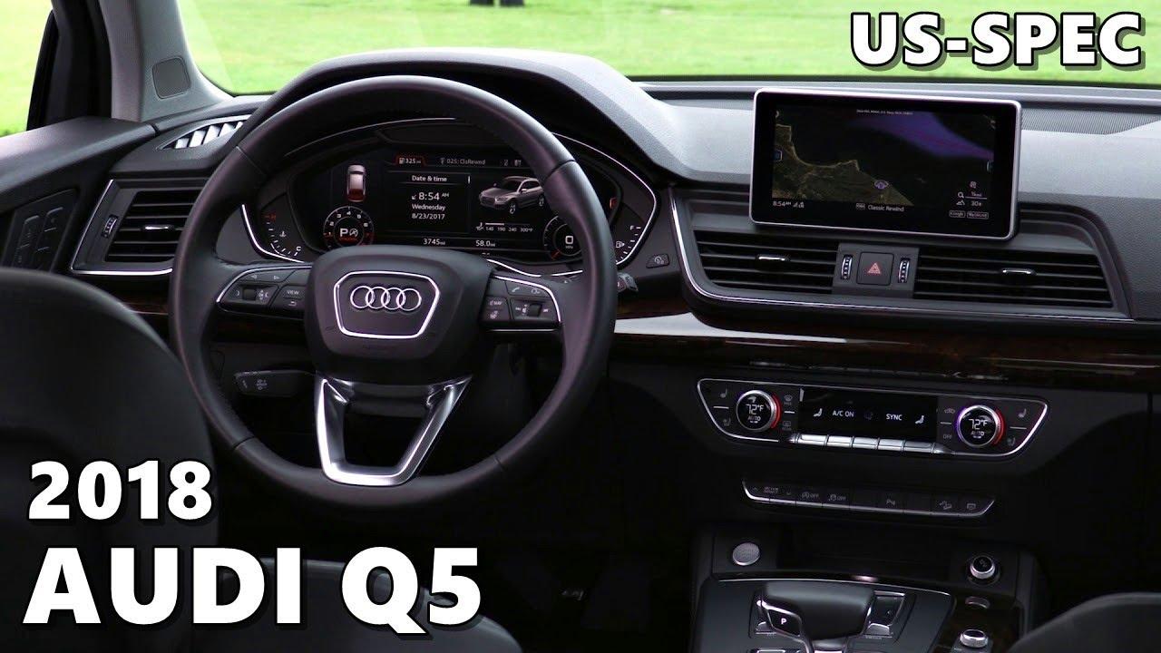 2018 Audi Q5 Us Spec Exterior Interior Youtube