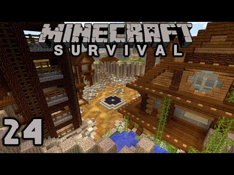Minecraft Survival # 24 – New Moon Mining Co. Finished!