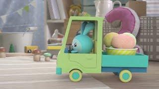 Малышарики - Новые серии - Подъемный кран (86 серия) Развивающие мультики