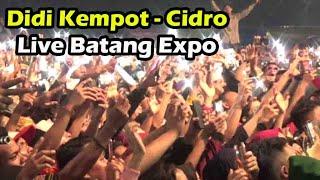 Cidro (Full Lirik) - Didi Kempot Live Batang Expo