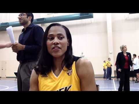 Marion Jones - 2011 Tulsa Shock Media Day