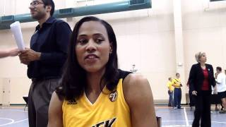 Marion Jones - 2011 Tulsa Shock Media Day