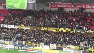 Guldfågeln Arena KFF-AIK 1-1, AIK-supporters (1)