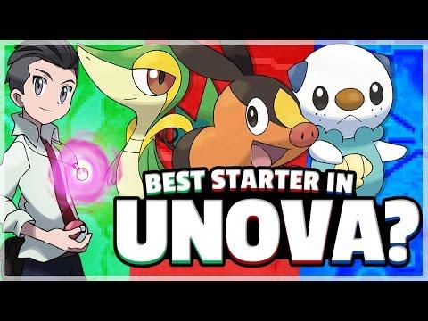What Is The Best Starter Pokemon? (Unova) Feat. TheSilverSlasher Part 1