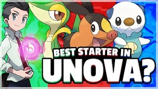 What Is The Best Starter Pokemon? (Unova) Feat. TheSilverSlasher Part 1