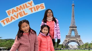 Travel Tips with Kids to Paris - Climbing Eiffel Tower Vlog